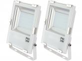 2x AdLuminis SMD LED Fluter 30W 3.300 Lumen