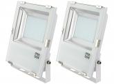 2x AdLuminis SMD LED Fluter 50W 5.500 Lumen