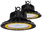 2x AdLuminis LED Hallenstrahler 100W 14.500 Lumen UFO dimmbar