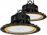 2x Cloche LED UFO high bay 150W 20.500lm dimmable suspension industrielle AdLuminis