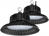 2x AdLuminis LED Hallenstrahler UFO High Bay 50 Watt 4.700 Lumen