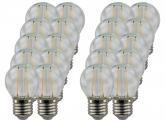 20x AdLuminis LED-Filament Mini Globe G45 klar 4W E27