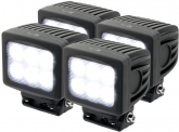 4x Phare de travail LED 4.800 Lumens 60 Watts 90° 10-30 Volts AdLuminis