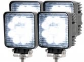 4x AdLuminis LED Arbeitsscheinwerfer T1027S 10-30V 60° 1.620 Lumen