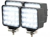 4x Phare de travail LED 2.880 Lumens 48 Watts 30° 10-30 Volts AdLuminis