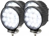 4x AdLuminis LED Arbeitsscheinwerfer T1042 42W 60° 2.520 Lumen