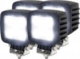 4x AdLuminis LED Arbeitsscheinwerfer T1130 30W 2.700 Lumen