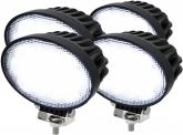 4x AdLuminis LED Arbeitsscheinwerfer T3265 65W 60° 5.200 Lumen