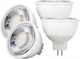 4x AdLuminis MR16 LED SMD Reflektorlampe dimmbar 6W 500 Lumen