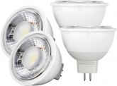 4x AdLuminis MR16 LED SMD Reflektorlampe dimmbar 7W 630 Lumen