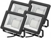 4x AdLuminis SMD LED Fluter normal 20W 1.700 Lumen