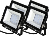 4x AdLuminis SMD LED Fluter normal 20W 1.700 Lumen