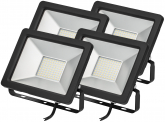 4x AdLuminis SMD LED Fluter normal 30W 2.450 Lumen