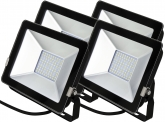 4x AdLuminis SMD LED Fluter normal 30W 2.250 Lumen