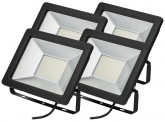 4x AdLuminis SMD LED Fluter normal 50W 3.900 Lumen