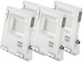 4x AdLuminis SMD LED Fluter 10W 1.100 Lumen