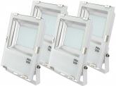 4x AdLuminis SMD LED Fluter 50W 5.500 Lumen