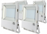 4x AdLuminis SMD LED Fluter 100W 11.000 Lumen