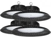 4x AdLuminis LED Hallenstrahler UFO High Bay 200 Watt 19.900 Lumen