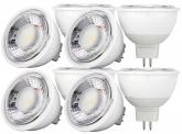 8x AdLuminis MR16 LED SMD Reflektorlampe dimmbar 6W 500 Lumen