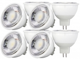 8x AdLuminis MR16 LED SMD Reflektorlampe dimmbar 4W 350 Lumen