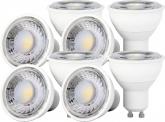 8x LED Reflektorlampe GU10 7W 670 Lumen