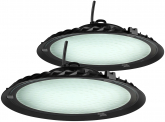 2x AdLuminis LED Hallenstrahler UFO High Bay 150 Watt 13.500 Lumen