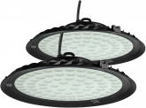 2x AdLuminis LED Hallenstrahler UFO High Bay 50 Watt 4.500 Lumen