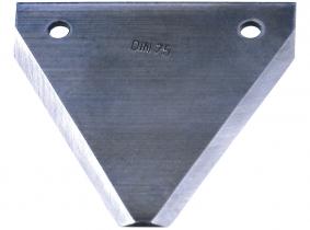 Mähmesserklinge DIN 75, glatt (25 Stück) Mähmesserklinge DIN 75, glatt (25 Stück)