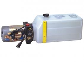 Hydroaggregat 12VDC/1800W, 180bar, 4ltr. Tank Hydroaggregrat 12VDC/1800W, 180bar, 4ltr. Tank