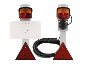 GEKA Rückleuchtengarnitur (BBS 95), 8,5m-Kabel, Steckdose GEKA Rückleuchtengarnitur (BBS 95), 8,5m-Kabel, Steckdose