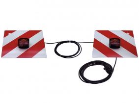 Warntafelsatz einseitige Beleuchtung nach DIN 11031 Warntafelsatz einseitige Beleuchtung nach DIN 11031