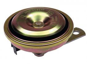 Einklang-Signalhorn 12V, 90mm Durchmesser Einklang-Signalhorn 12V, 90mm Durchmesser
