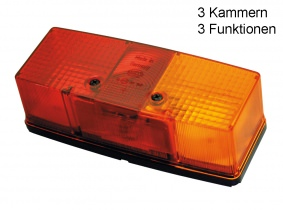 GEKA Blink-, Brems-, Schlussleuchte rechts BBS 158  ohne Kennzeichenleuchte GEKA Blink-, Brems-, Schlussleuchte rechts BBS 158  ohne Kennzeichenleuchte