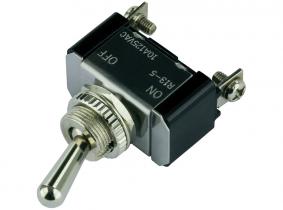 Kippschalter (on-off) Metall 12V/20A M12x1,0 Kippschalter (on-off) Metall 12V/20A M12x1,0