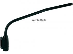 Spiegelarm verstellbar rechts 430mm, 16mm Rohr Spiegelarm verstellbar rechts 430mm, 16mm Rohr