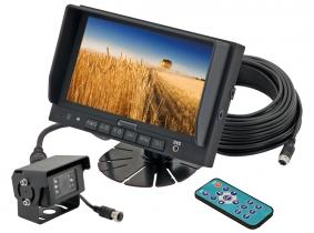 Videorückfahrsystem Farbe 7''  komplett (2-Videoeingänge) Videorückfahrsystem Farbe 7''  komplett (2-Videoeingänge)