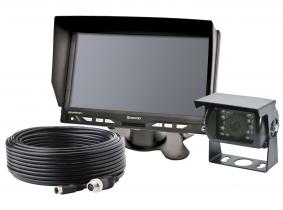 Videorückfahrsystem Farbe 7''  komplett (2 x 4-poliger Kameraanschluss) Videorückfahrsystem Farbe 7''  komplett (2 x 4-poliger Kameraanschluss)