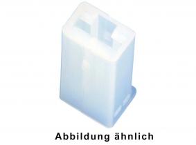 Steckgehäuse für Flachsteckhülse 1-polig Steckgehäuse für Flachsteckhülse 1-polig