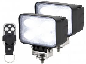 2x AdLuminis LED Arbeitsscheinwerfer 50W mit Funkfernbedienung 2x AdLuminis LED Arbeitsscheinwerfer 50W mit Funkfernbedienung
