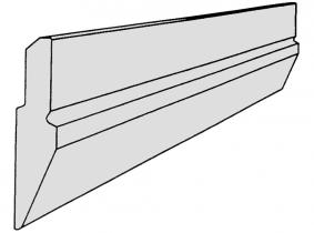 Profil-Schürfschiene 90x22mm (St 70-2) 100cm Profil-Schürfschiene 90x22mm (St 70-2) 100cm