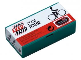 Flickzeug Fahrrad TT01, 5 Flicken, Gummilösung Flickzeug Fahrrad TT01, 5 Flicken, Gummilösung
