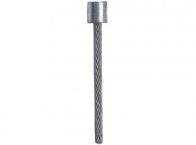 1,2x2000mm -Innen-Zugseil verzinkt mit Rundkopf (3x3mm) 1,2x2000mm -Innen-Zugseil verzinkt mit Rundkopf (3x3mm)