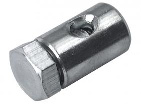 Seilklemmenschraube 6x9mm für 1,2-1,6mm Innen-Zugseil Seilklemmenschraube 6x9mm für 1,2-1,6mm Innen-Zugseil