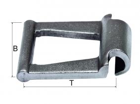 Gr. 55 JF-Stahlgelenkkette (41,7x36,5x20,5mm) Gr. 55 JF-Stahlgelenkkette (41,7x36,5x20,5mm)