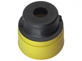 Schutztopf rund für Gelenkwellen 225/190/150mm Schutztopf rund für Gelenkwellen 225/190/150mm