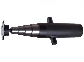 Hydraulikzylinder Teleskopzylinder mit Anschraubkugelpfanne Hub 570mm Hydraulikzylinder Teleskopzylinder mit Anschraubkugelpfanne Hub 570mm