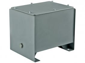 Öltank für Hydraulik-Aggregate aus Stahl -13L Öltank für Hydraulik-Aggregate aus Stahl -13L