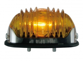 OLDTIMER Blinkleuchte oval gelb mit Chromrand 83x40mm HELLA OLDTIMER Blinkleuchte oval gelb mit Chromrand 83x40mm HELLA