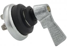 Einkreis-Blinkerschalter ohne Kontrollleuchte mit Metallgriff Einkreis-Blinkerschalter ohne Kontrollleuchte mit Metallgriff